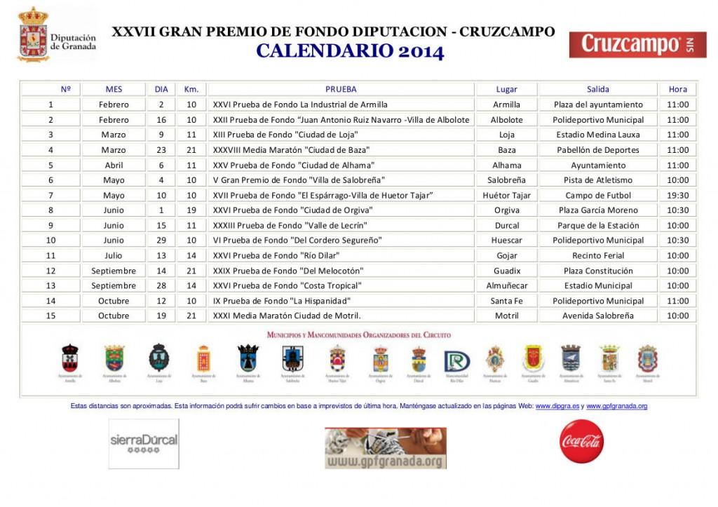 Calendario GPFONDO