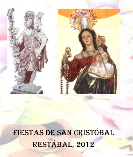 PROGRAMA DE FIESTAS 2012
