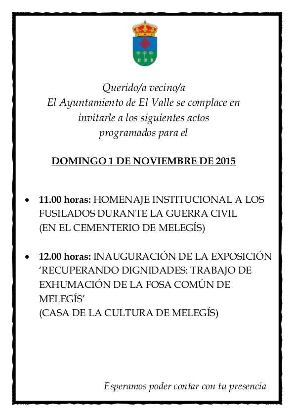 cartel expo fusilados