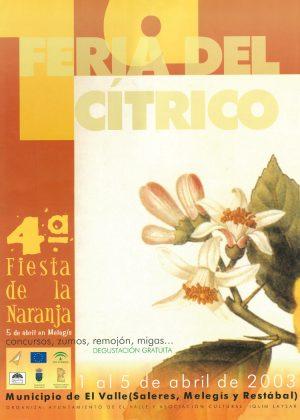 cartel feria 2003