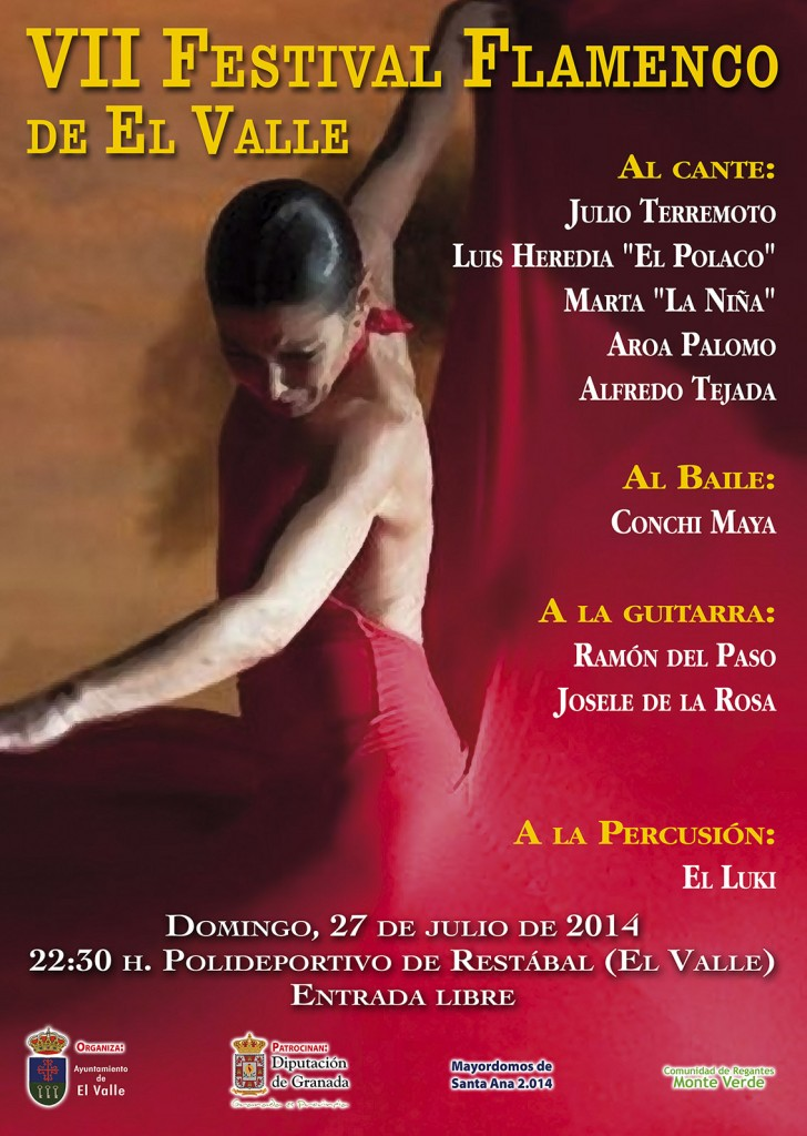 cartel flamenco2014