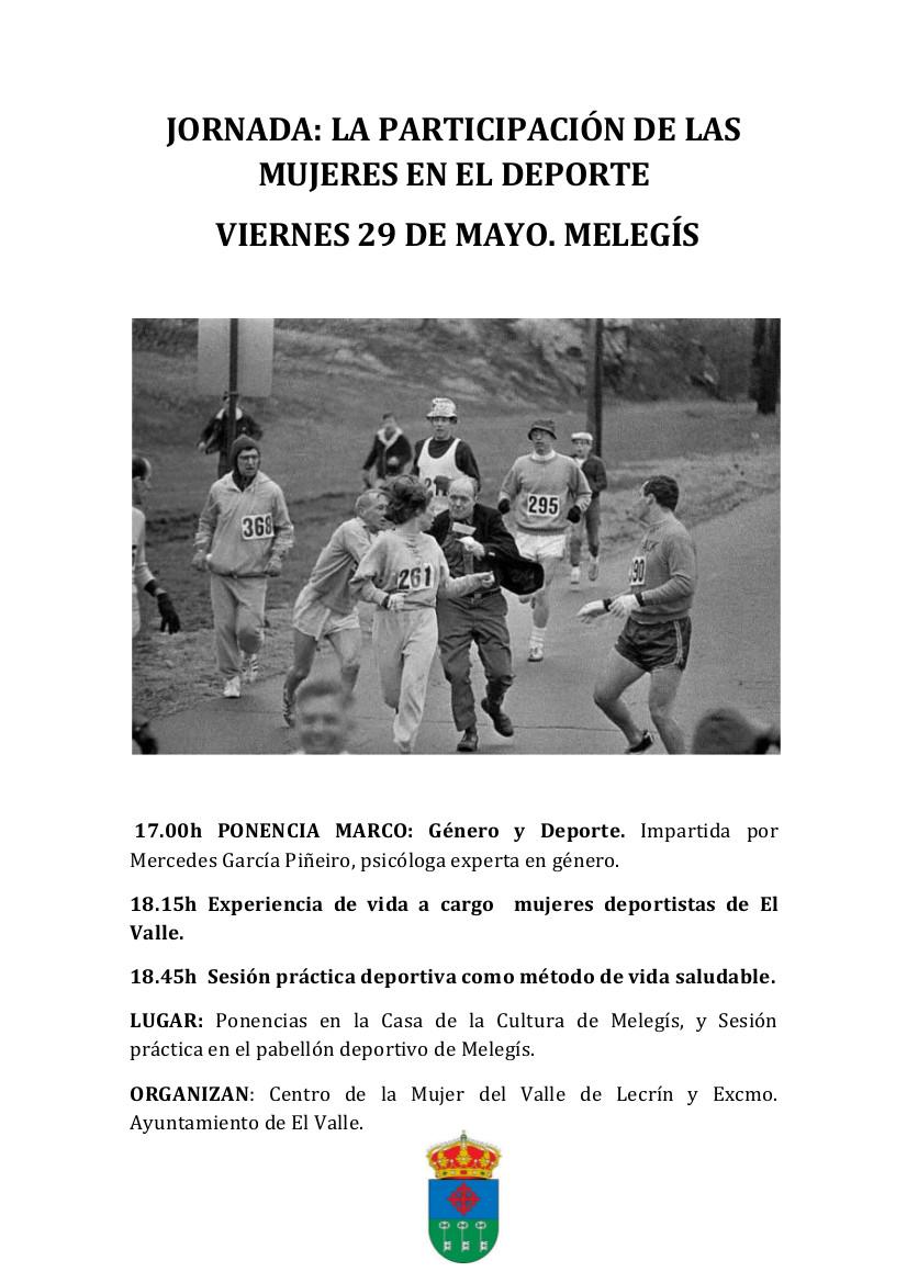 jornada mujer y deporte, El Valle
