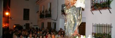Una fiesta llena de tradición en honor a la Virgen del Rosario